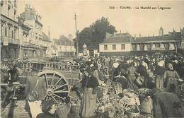 D-18-1408.ben : TOURS. LE MARCHE AUX LEGUMES - Tours