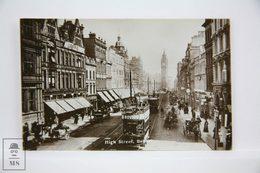 Postcard Northern Ireland - High Street, Belfast - W. E. Walton - Animated - Antrim / Belfast