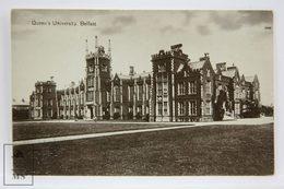 Postcard Northern Ireland - Queen's University, Belfast - W. E. Walton - Antrim / Belfast