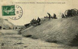 L'artillerie Montée Et Les Obstacles Descente Dans Un Fossé Profond Et à Revers Rapide - Maniobras