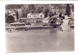 5480 REMAGEN - ROLANDSECK, Rheinterrassen - Decker - Bellevue, Luftufnahme, 1953 - Remagen