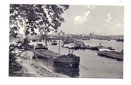 """BINNENSCHIFFE - RHEIN, Frachtschiffe Bei Duisburg, MS """"VENUS"""", 1957 - Comercio"""