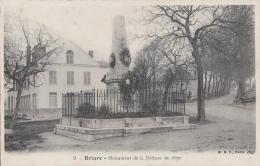Briare 45 - Monument De La Défense - Guerre 1870 - Editeur B. F. N° 9 - Briare