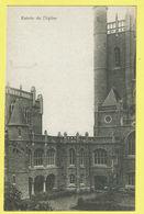 * Wavre Notre Dame - Sint Katelijne Waver (Antwerpen) * (E. & B.) Institut Des Ursulines, Entrée De L'église, Kerk, Rare - Sint-Katelijne-Waver