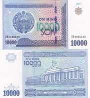 Uzbekistan - 10000 Sum 2017 UNC Ukr-OP - Oezbekistan