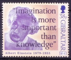 Gibraltar 1998 MNH, Einstein, Nobel Physics - Albert Einstein