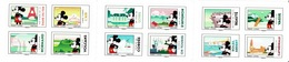 France, Mickey Mouse In France, Superb Booklet Of 12, 2018, MNH VF - Unused Stamps