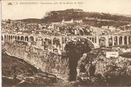 CPA Algérie - Constantine, Panorama Pris De La Route De Sétif - Constantine