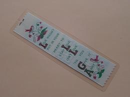 Bookmark, Marque-page, Bladwijzer GIVE It AWAY ( Voir Photo ) Anno 19?? ( Zie Foto Voor Details ) ! - Marque-Pages