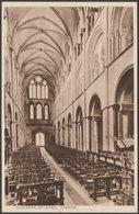 Interior, Chichester Cathedral, Sussex, C.1930s - Postcard - Chichester
