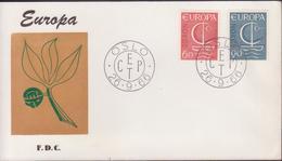 ENVELOPPE TIMBRE 1966 EUROPA - FDC
