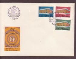 ENVELOPPE TIMBRE  1969  EUROPA VOIR PHOTO - FDC