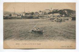 Bone - Le Port Et Le Fort De La Cigogne - Annaba (Bône)