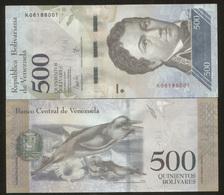 Venezuela 500 Bolivares 2017 Pick NEW UNC - Venezuela
