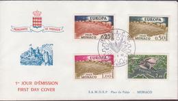 ENVELOPPE TIMBRE  1962  EUROPA VOIR PHOTO - FDC