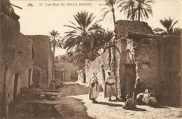 CPA Algérie - Biskra, Rue Du Vieux Biskra - Biskra
