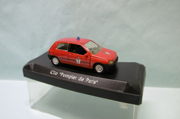 Solido - RENAULT CLIO I Pompiers De Paris Rouge BO 1/43 - Solido