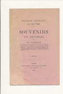 Colonie Agricole De METTRAY, Indre Et Loire - Souvenirs D'un Fonctionnaire, 1885 - M. Guimas - Livres, BD, Revues