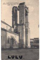 DEPT 17 : édit. R Bergevin N° 4034 : Saint Jean D Angély Ruines De L église Abbatiale - Saint-Jean-d'Angely
