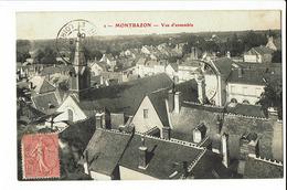 CPA - Carte Postale - FRANCE -   Montbazon Vue D'ensemble 1906 - S1909 - Montbazon