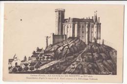France 63 - Le Château De Nonette Au XV Siècle   - Achat Immédiate - Issoire