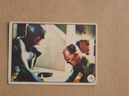 BATMAN  N° 9 Vintage Rare Old Trading Card TV Film Série TV 1966 Vignette Greenway Productions National Périodical - Sonstige
