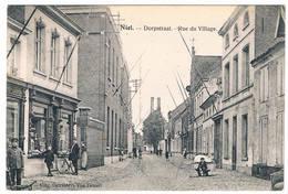 Niel - Dorpstraat - Rue Du Village.  (Geanimeerd) - Niel