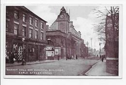 Crewe -Market Hall And Municipal Buildings, Earle Street - England