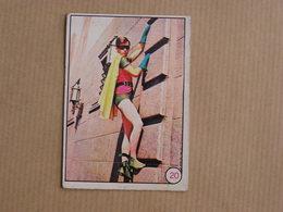 BATMAN  N° 20 Vintage Rare Old Trading Card TV Film Série TV 1966 Vignette Greenway Productions National Périodical - Sonstige