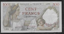France - 100 Francs Sully - 14-9-1939 - Fayette N°26-6 - TB - 1871-1952 Gedurende De XXste In Omloop