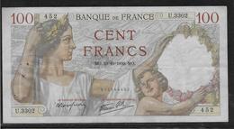 France - 100 Francs Sully - 19-10-1939 - Fayette N°26-11 - TB - 1871-1952 Antichi Franchi Circolanti Nel XX Secolo