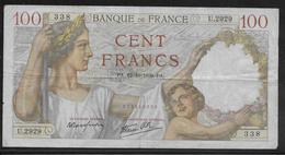 France - 100 Francs Sully - 12-10-1939 - Fayette N°26-10 - TB - 1871-1952 Gedurende De XXste In Omloop