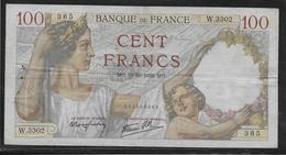 France - 100 Francs Sully - 19-10-1939 - Fayette N°26-11 - TB - 1871-1952 Gedurende De XXste In Omloop