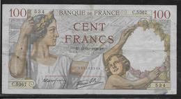 France - 100 Francs Sully - 21-12-1939 - Fayette N°26-18 - TB - 1871-1952 Gedurende De XXste In Omloop