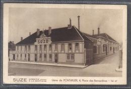 Carte Postale 25. Pontarlier  SUZE Usine D'apéritif à La Gentiane Très Beau Plan - Pontarlier