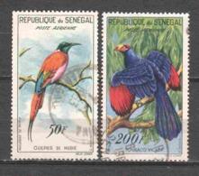 Senegal 1960 Mi 239 + 241 Canceled BIRDS - Senegal (1960-...)