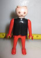 PLAYMOBIL GEOBRA 1974 RED/BLACK - Playmobil