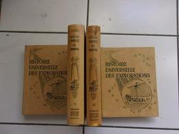 Lot Histoire Universelle Des Explorations Tomes 1 2 3 4 (1958) Série Complète - Voyages