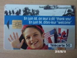 """F463 Débarquement """"Welcome"""" 50U S03 - Armée"""