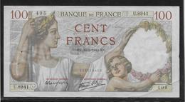 France - 100 Francs Sully - 14-3-1940 - Fayette N°26-25 - TTB - 1871-1952 Antichi Franchi Circolanti Nel XX Secolo