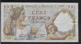 France - 100 Francs Sully - 18-4-1940 - Fayette N°26-27 - TB - 1871-1952 Antichi Franchi Circolanti Nel XX Secolo