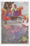 Lola Onslow - Story Book Post Card 26/1 - Dressed Animals