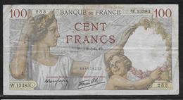 France - 100 Francs Sully - 1-8-1940 - Fayette N°26-34 - TB - 1871-1952 Antichi Franchi Circolanti Nel XX Secolo