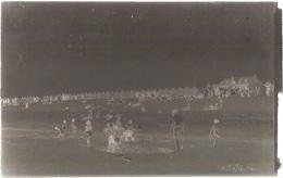Dépt 80 - CAYEUX-SUR-MER - PLAQUE De VERRE (négatif Photo Noir & Blanc, Cliché R. Lelong) - PLAGE - Bord De Mer - Cayeux Sur Mer