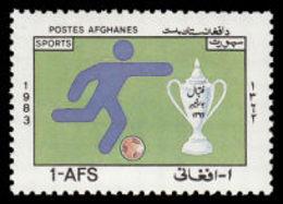 Soccer Football Afghanistan #1309 1983 MNH ** - Neufs