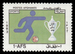 Soccer Football Afghanistan #1309 1983 MNH ** - Soccer