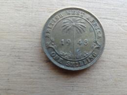 Britich  West Africa  1  Shilling  1943  Km 23 - British Colony