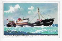 "M.T. ""Boston Arrow"" Near Water Trawler - Fishing"