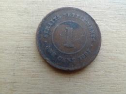 Straits Settlements  1  Cent  1897  Km 16 - Monnaies