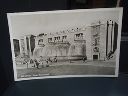 Cp LISBOA Fonte Monumental. Carte Glacée. 3 Juillet 1956 Flamme + Timbre. Lisbonne. - Lisboa